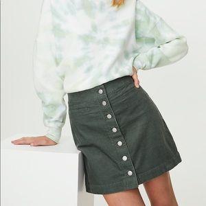 Wilfred Karmen Corduroy Skirt
